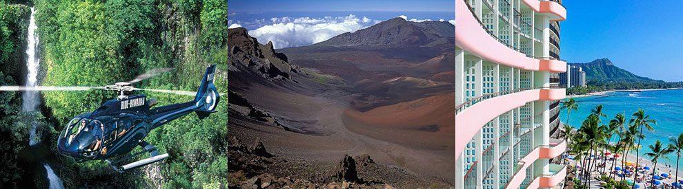 Hawaii : Oahu, Maui en Big island